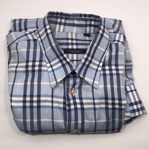 Burberry Nova Check Mens Button Down Shirt